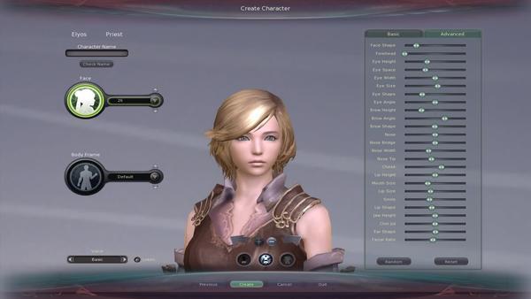 CharacterCreation