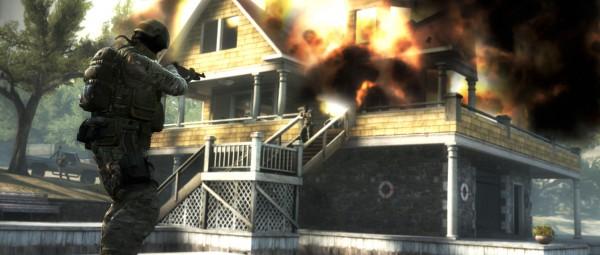Exploding Beachhouse