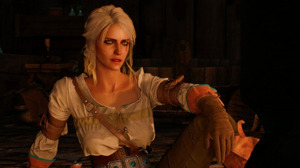Ciri, from the Witcher III
